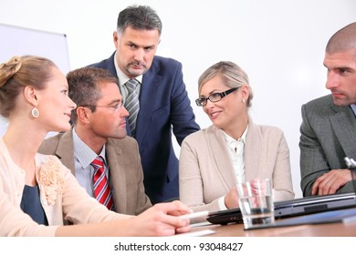 Business team - discussion
