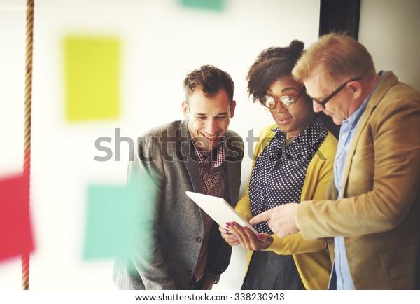 Business Team Meeting Discussion Break Concept
