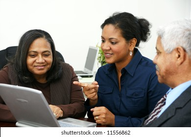 Business Team in Office