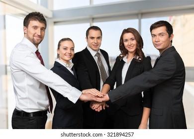 Business Teamwork.