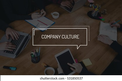 BUSINESS TEAMWORK WORKING OFFICE BRAINSTORMING COMPANY CULTURE CONCEPT