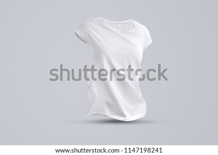 business template shape blank female tshirt stock photo edit now