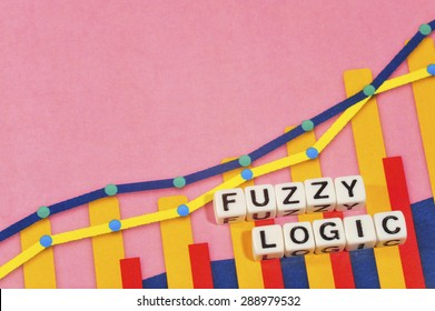 Business Term with Climbing Chart / Graph - Fuzzy Logic