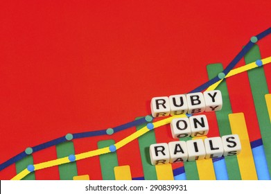 Business Term with Climbing Chart / Graph - Ruby On Rails