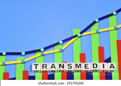 Business Term with Climbing Chart / Graph - Transmedia