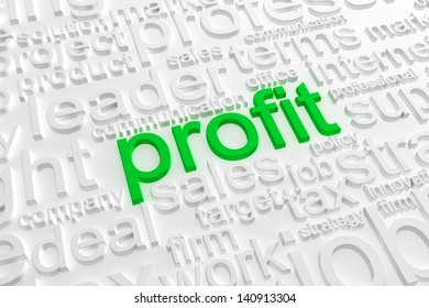 Business text background
