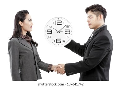 business is time and money,business concept