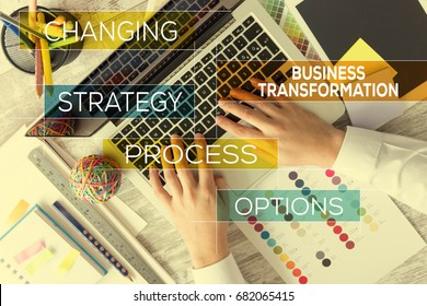 BUSINESS TRANSFORMATION CONCEPT