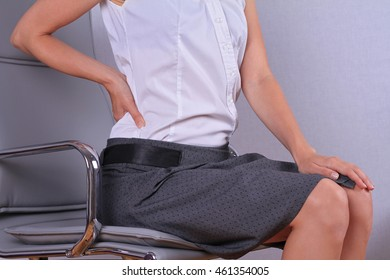 Advise girl bent over chair congratulate, simply