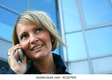 Business Woman -  Call and Phone