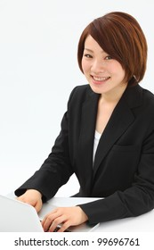business woman. Portrait of asian woman.