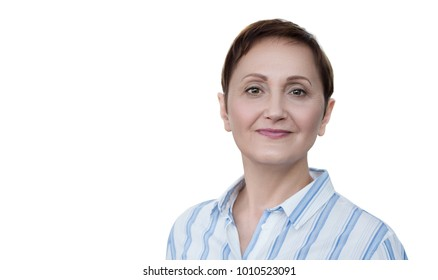 Business woman. Professional portrait of middle aged older woman 40 45 50 years old