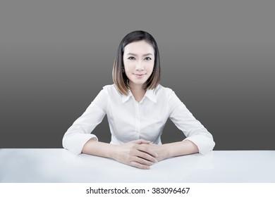 Business women,office women,smile