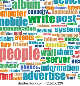 Business. Word collage on white background. different association terms. raster