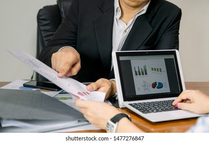 Business working graph analysis for executives