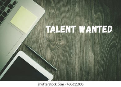 BUSINESS WORKPLACE TECHNOLOGY OFFICE TALENT WANTED CONCEPT