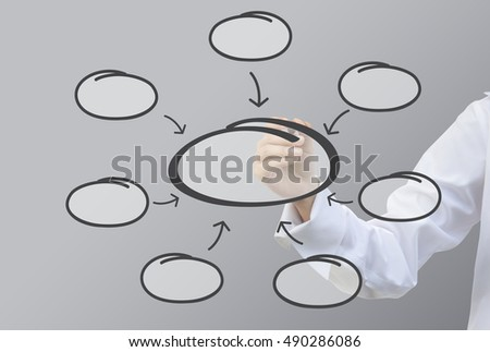 business writing relation bubble diagram concept stock photo (editbusiness writing relation of bubble diagram concept (set7)