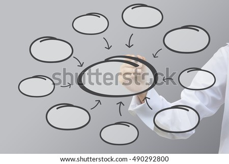 business writing relation bubble diagram concept stock photo (editbusiness writing relation of bubble diagram concept (set9)