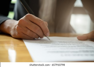 business,have a contract in place to protect it,signing of modest agreements form In office