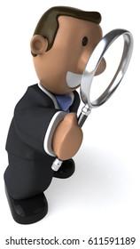 Businessman - 3D Illustration