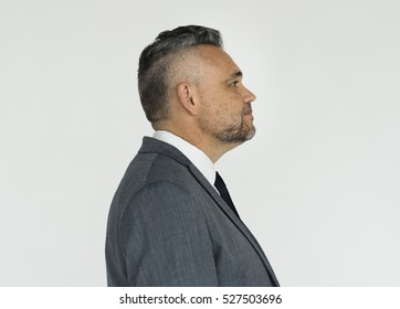 Businessman Adult Portrait Occupation Concept