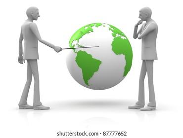 Businessman / Business Strategy / Global