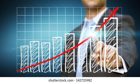 Businessman crisis concept