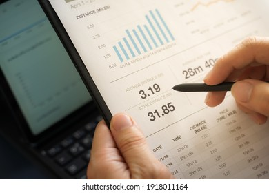 Businessman doing finances and calculate about cost to investment , business Financing Accounting Banking Concept, tax system
