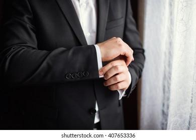 Businessman dress shirt