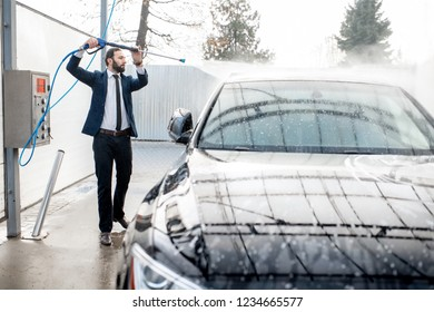 Self Service Carwash Images Stock Photos Vectors Shutterstock