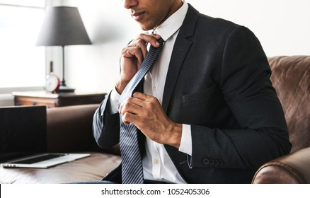 Businessman in formalwear