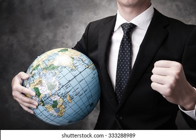 Businessman and Globalization