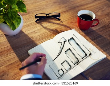 Businessman Growth Business Financial Ideas Planning Concept