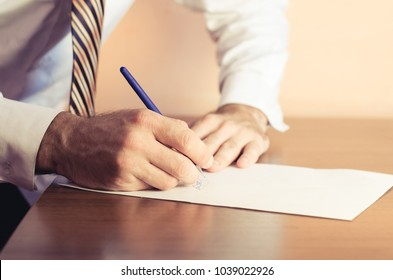 businessman hands on the background