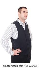 Businessman isolate on white background