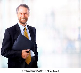 businessman isolated on white bacground