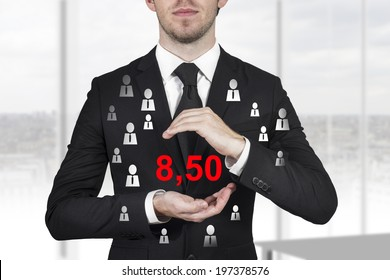 businessman minimal wage germany