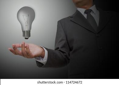 Businessman No ideas