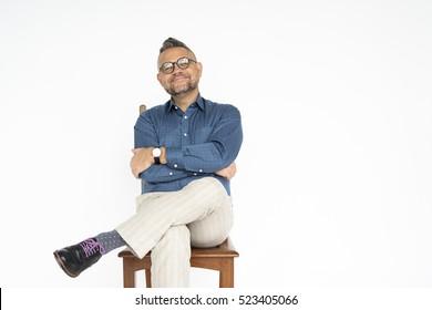 Businessman Occupation Portrait Positive