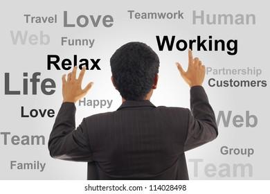 Businessman Planning