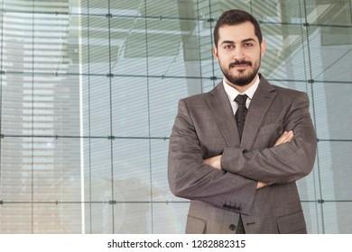 businessman portrait  at workplace