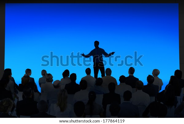 Businessman Presenting in the Meeting Room