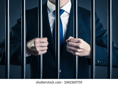 Businessman and prison