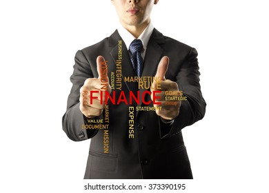 businessman showing thumbs up isolated over white background.info graphic