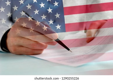 American Flags Overlay Images, Stock Photos & Vectors