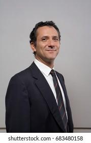 Businessman smiling portrait
