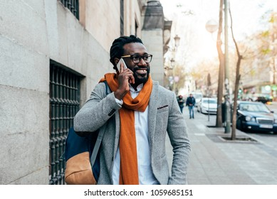 Businessman in the Street. Business Concept