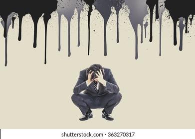 Businessman to suffer a head