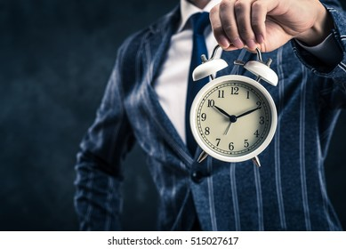 Businessman and time management