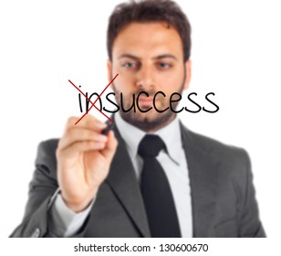 Businessman writes that will be a success